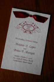 wedding programs with ribbon wedding program beth wiregrass weddings