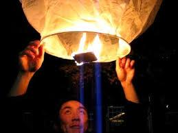 fireworks lantern fireworks 3 sending a lantern afloat