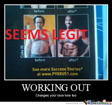 I Work Out Meme - awesome workout by johnpaul meme center