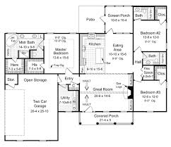 Home Design For 1800 Sq Ft House Plan 59068 At Familyhomeplans Com
