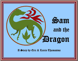 dragons for children bedtime story sam and the eric lanin thomasma