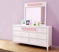 enchanting girls bedroom decoration presenting alluring dressers