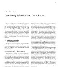 chapter 2 case study selection and compilation economic impact