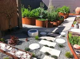 terrace u0026 garden japanese garden idea by combining concrete