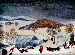 Thanksgiving Window Paintings History Of Art Naive Art Grandma Moses