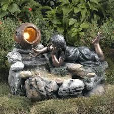 rock garden fountains rock yard fountains u2013 sdgtracker