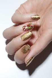 mrs santa u0027s claws candy cane nails