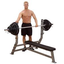Weight Bench With Bar - fitnesszone free weight benches