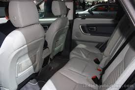 land rover white interior land rover discovery rear seat interior at the 2015 detroit auto