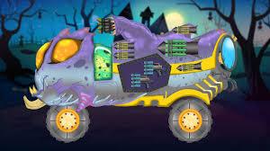 scary monster truck halloween videos for kids monster trucks