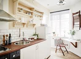 Country House Kitchen Design Bright Country House Kitchen Design In A Small Area With Simply