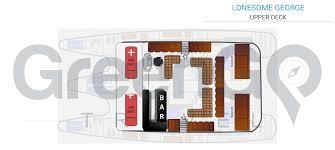 Catamaran Floor Plans Lonesome George Galapagos Catamaran Greengo Travel