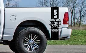 Dodge Dakota Truck Decals - product 2x dodge bed fender decals ram hemi 3500 heavy duty vinyl