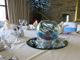 fish bowl centerpieces 36 dining table centerpiece ideas table decorating ideas
