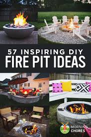 Outdoor Fireplaces And Fire Pits That Light Up The Night Diy 57 Inspiring Diy Outdoor Fire Pit Ideas To Make S U0027mores With Your