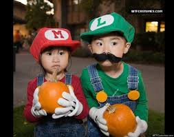 Mario Halloween Costumes Girls Halloween Costumes Siblings Cute Creepy