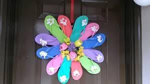 flip flop wreath a flip flop wreath thriftyfun