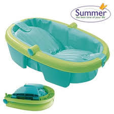 Baby Foldable Bathtub Buy Summer Infant Folding Bath Tub From Our Bath Tubs Range Tesco