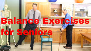 balance exercises for seniors beginner to advanced youtube