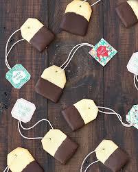 chocolate dipped shortbread tea bag cookies as easy as apple pie