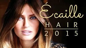 ecaille hair écaille hair tendencias cabello 2015 youtube