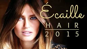 ecaille hair trends for 2015 écaille hair tendencias cabello 2015 youtube
