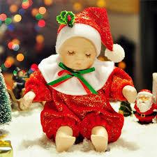 creative gifts christmas baby mini music box bobblehead dolls
