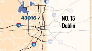 Central Ohio Zip Code Map by Central Ohio U0027s Wealthiest Zip Codes According To Esri Inc