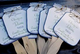 jar wedding programs might need something like this for our ceremony early sept is