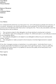 Confirmation Of Appointment Letter Sample Request Confirmation Of An Authorization To Take Action