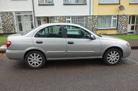 silver nissan 2006 nissan almera saloon 1 5l sxe petrol 5 door color silver so