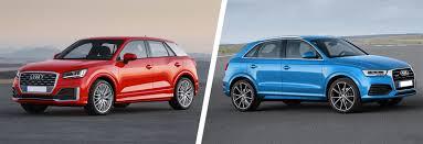 audi q3 wheelbase audi q2 vs q3 suv comparison carwow