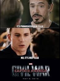 Meme Pronounced - captain america civil war meme google search captain america