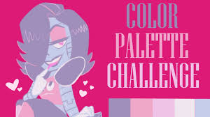 color palette challenge mettaton undertale speedpaint youtube