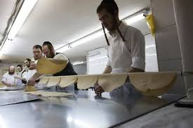 matzo unleavened bread passover matzo preparations underway for the festival of