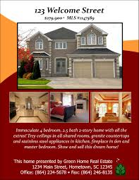 open house designs real estate flyers booklets postcards and