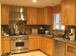 Pictures Of Stone Backsplashes For Kitchens Granite Countertop Chrome Cabinets Stone Tile Backsplash Kitchen