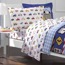 Twin Bed Sets For Boy by Cars Trucks Airplane Police Car Bedding For Boys 5pc Twin