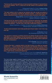 financial valuation and econometrics kian guan lim 9789814307956