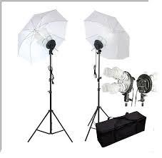 cheap umbrella lighting kit 1600w photo lighting kit studio umbrella light set video portrait