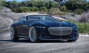 bentley maybach mercedes maybach goes green with vision 6 cabriolet