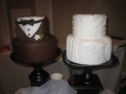 Grooms Cake Brilliant His And Hers Wedding Cake 17 Best Images About Details