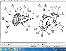 1994 ford f150 parts catalog solved rear brake diagram for ford f 150 1997 fixya