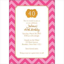 colors 40th birthday invitation wording woman also surprise 40th