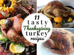 11 tasty thanksgiving turkey recipes just a pinch