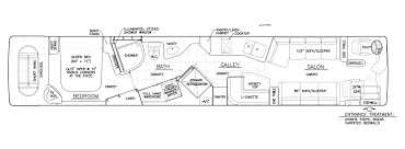 prevost floor plans inventory detail 0511 marathon coach coburg oregon