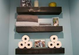 bathroom wall shelving ideas beautiful bathroom wall shelves to add space for storage and the