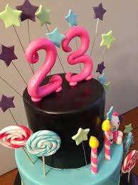 23rd birthday cake ideas for him sweets photos blog