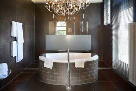 Modern Bathroom Chandeliers Bespoke Bathrooms With Glittering Chandeliers Sublipalawan Style