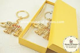 keychain favors lucky elephant rhinestone keychain favors as low as rm5 80 key